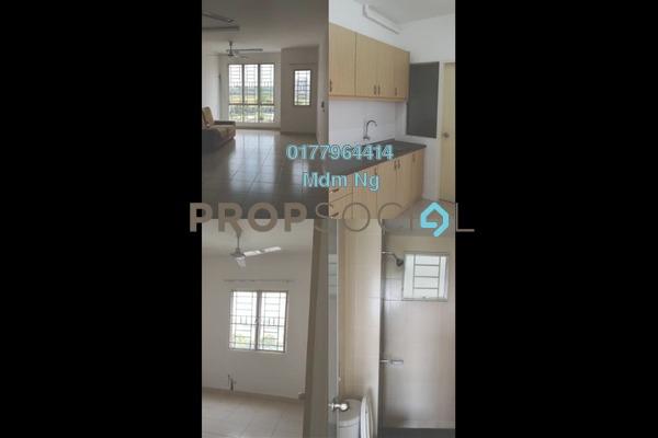 Condominium For Rent in Seri Baiduri, Setia Alam Freehold Semi Furnished 3R/2B 1k