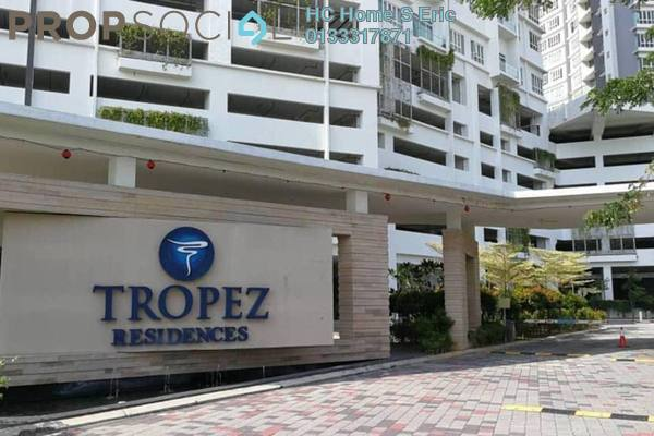 Serviced Residence For Sale in Tropez Residences, Danga Bay Freehold Semi Furnished 3R/2B 467k