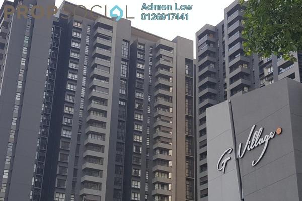Condominium For Sale in G Residence, Desa Pandan Freehold Semi Furnished 2R/2B 1.1m