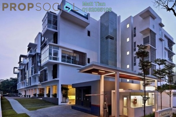 Condominium For Rent in Nobleton Crest, Ampang Hilir Freehold Semi Furnished 4R/1B 14k