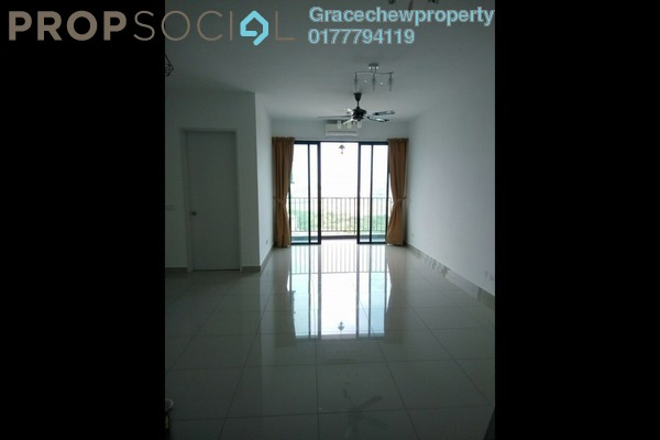 Serviced Residence For Rent in Greenfield Regency, Skudai Freehold Semi Furnished 2R/2B 1.68k
