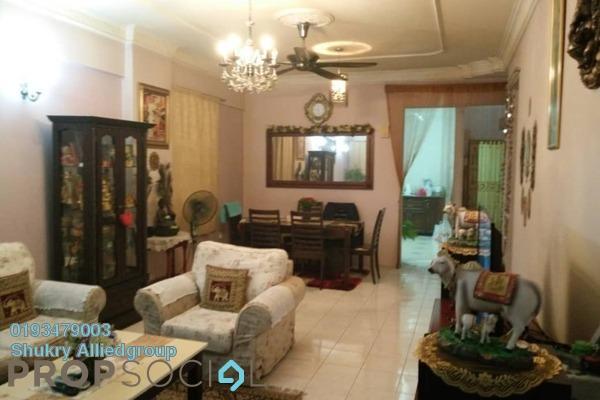 Condominium For Sale in Pelangi Condominium, Sentul Freehold Semi Furnished 3R/2B 450k