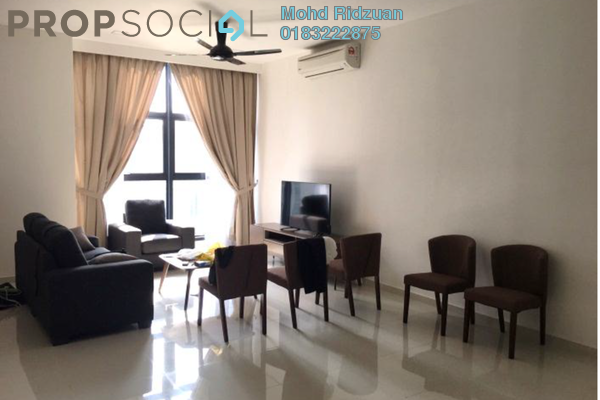 Condominium For Rent in Mirage Residence, KLCC Freehold Fully Furnished 2R/2B 5.5k