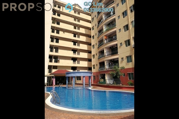 Apartment For Sale in Mandy Villa, Segambut Leasehold Unfurnished 3R/2B 348k