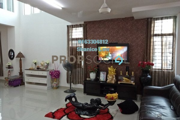 Terrace For Sale in Lakeside Residences, Puchong Freehold Semi Furnished 5R/4B 950k