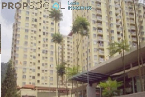 Condominium For Sale in Platinum Hill PV3, Setapak Freehold Semi Furnished 4R/2B 438k