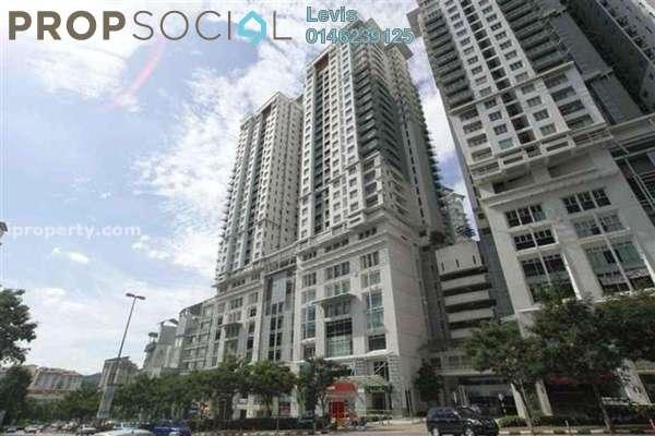 Condominium For Sale in Metropolitan Square, Damansara Perdana Freehold Semi Furnished 3R/2B 630k