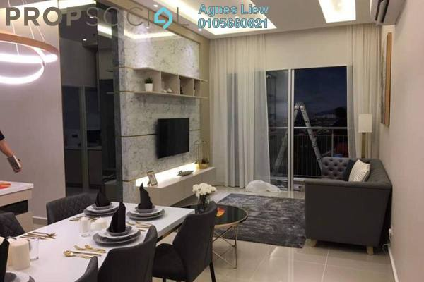 Condominium For Sale in Henna Residence @ The Quartz, Wangsa Maju Freehold Semi Furnished 3R/2B 499k