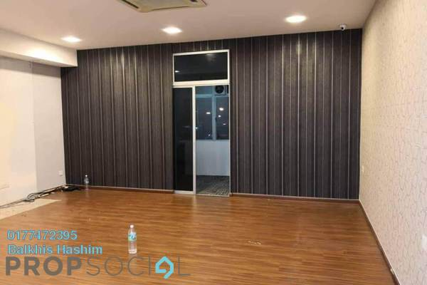 Office For Rent in Section 13, Shah Alam Freehold Semi Furnished 1R/1B 1.5k