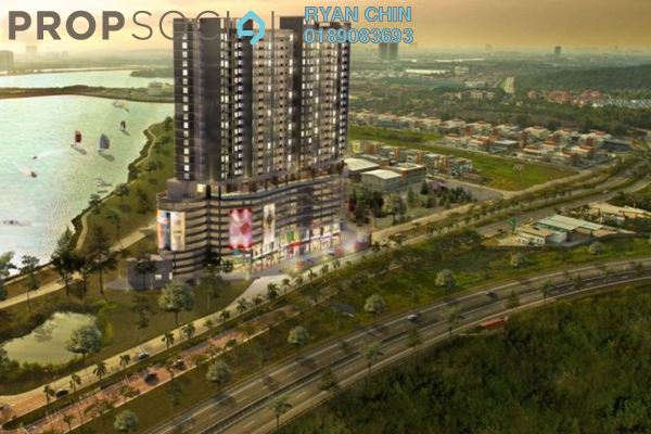 Condominium For Sale in Saville @ D'Lake, Puchong Freehold Semi Furnished 3R/4B 420k