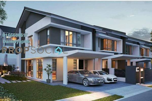 Terrace For Sale in Chloe Residence, Rawang Freehold Unfurnished 4R/3B 622k