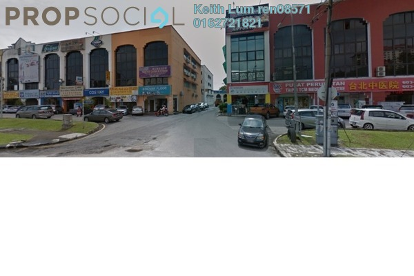 Shop For Sale in Taman Megah, Kepong Leasehold Semi Furnished 4R/4B 2.2m