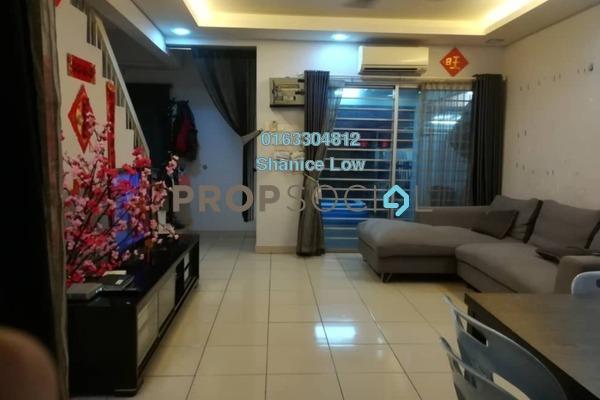 Terrace For Sale in PU5, Bandar Puchong Utama Freehold Semi Furnished 4R/3B 490k