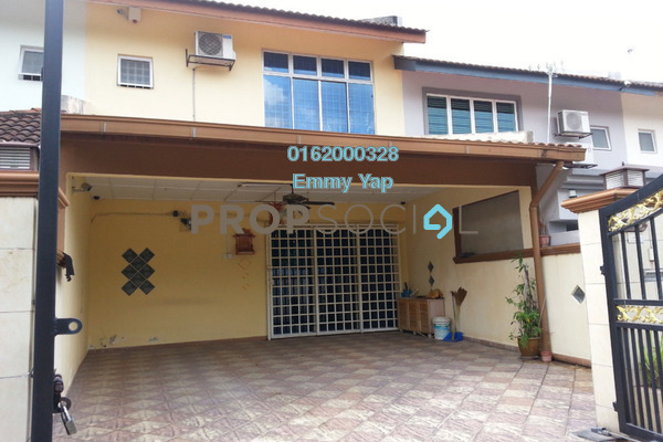 Terrace For Rent in Section 5, Bandar Mahkota Cheras Freehold Semi Furnished 4R/3B 1.2k