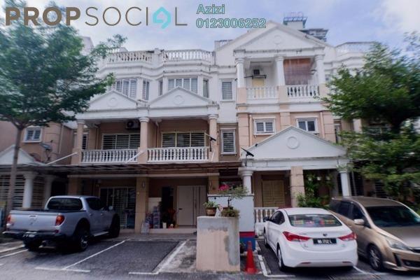 Townhouse For Sale in Sommerset Close, Bandar Sri Permaisuri Leasehold Semi Furnished 3R/4B 750k