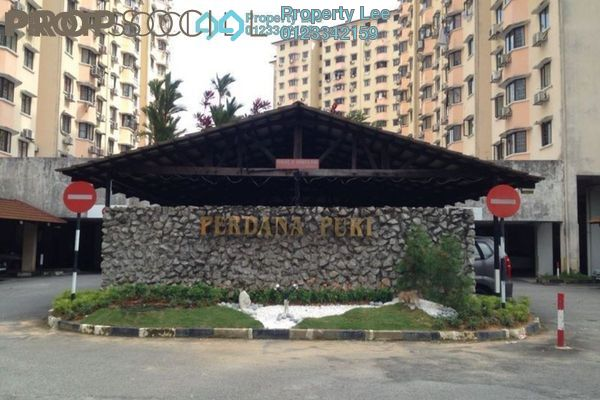 Condominium For Rent in Perdana Puri, Kepong Freehold Semi Furnished 3R/2B 900translationmissing:en.pricing.unit