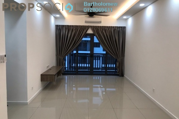 Condominium For Rent in Suria Residence, Bukit Jelutong Freehold Semi Furnished 2R/2B 1.7k