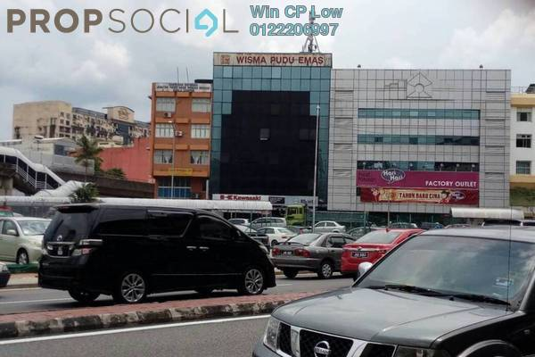 Shop For Rent in Kenanga Point, Pudu Freehold Unfurnished 1R/1B 3k