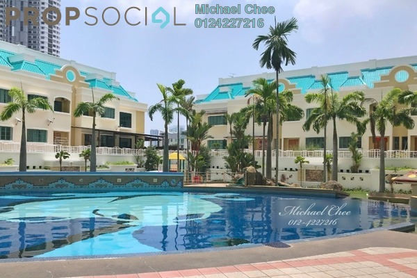 Condominium For Rent in Tanjung Park, Tanjung Tokong Freehold Fully Furnished 3R/2B 1.7k