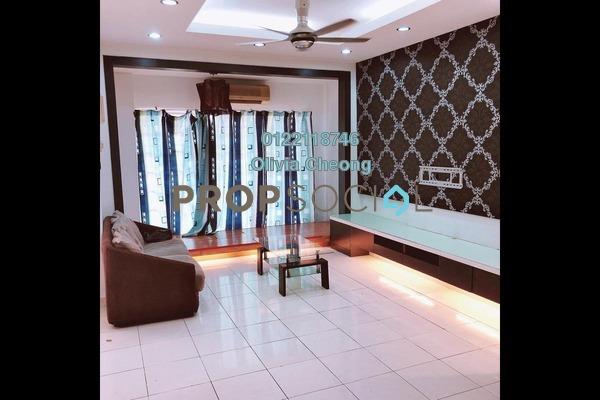 Terrace For Sale in Puteri 12, Bandar Puteri Puchong Freehold Semi Furnished 4R/3B 980k