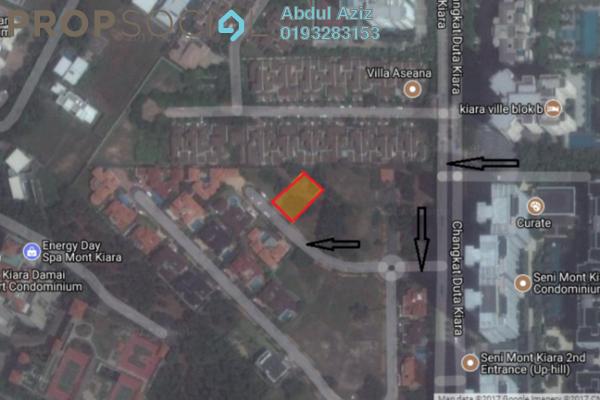 Land For Sale in Puncak Kiara, Mont Kiara Freehold Unfurnished 0R/0B 4.03m