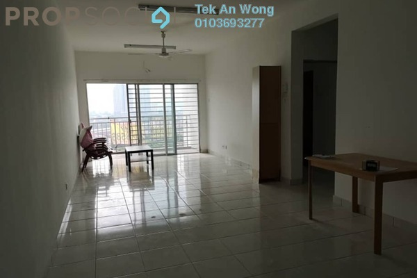 Condominium For Rent in Symphony Heights, Selayang Freehold Semi Furnished 3R/2B 1.2k