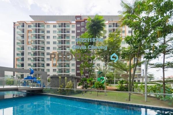 Condominium For Sale in Hijauan Saujana, Saujana Freehold Semi Furnished 1R/1B 410k
