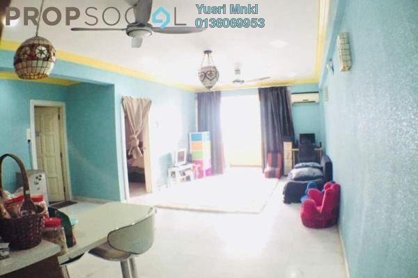 Apartment For Sale in Sri Mutiara, Sungai Besi Freehold Semi Furnished 2R/2B 350k