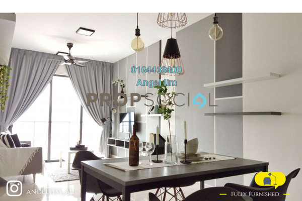 Condominium For Rent in KL Traders Square, Kuala Lumpur Freehold Fully Furnished 3R/2B 2.5k
