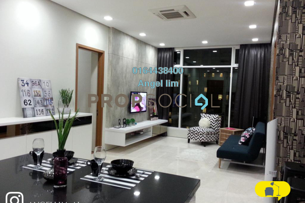Condominium For Rent in Soho Suites, KLCC Freehold Fully Furnished 2R/1B 2.8k