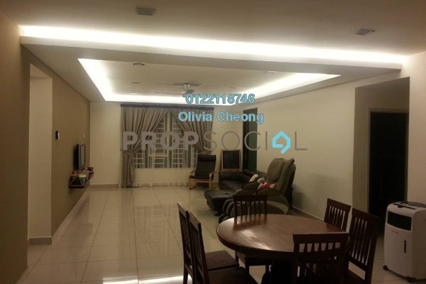 Condominium For Sale in Atmosfera, Bandar Puchong Jaya Freehold Semi Furnished 3R/3B 680k