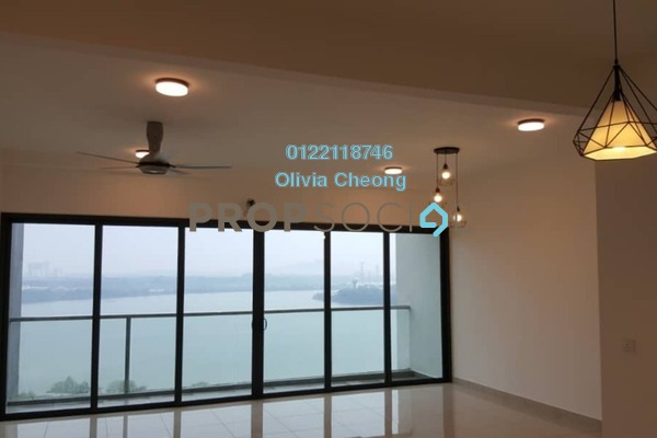 Condominium For Rent in Skyvilla @ D'Island, Puchong Freehold Semi Furnished 3R/2B 1.7k