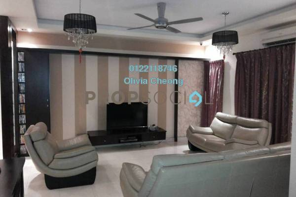 Terrace For Sale in Puteri 11, Bandar Puteri Puchong Freehold Fully Furnished 5R/4B 1.25m