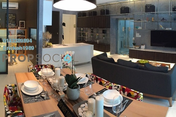Condominium For Rent in CitiZen, Old Klang Road Freehold Semi Furnished 3R/2B 2.4k