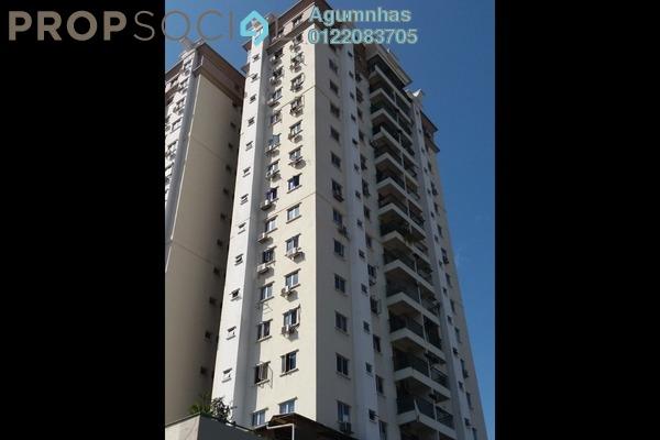 Condominium For Rent in Taman Dagang, Ampang Freehold Semi Furnished 4R/2B 1.49k