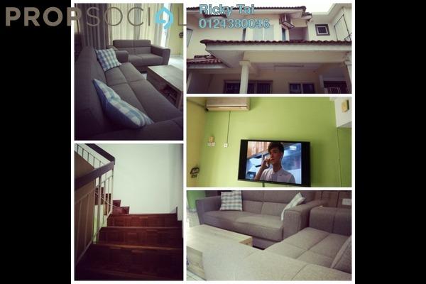 Terrace For Sale in PU9, Bandar Puchong Utama Freehold Fully Furnished 4R/3B 530k