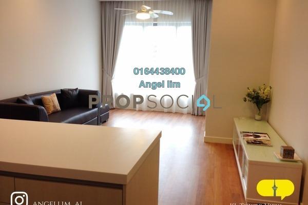 Condominium For Rent in 6 Ceylon, Bukit Ceylon Freehold Fully Furnished 2R/2B 3k