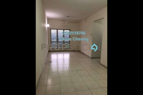 Apartment For Rent in Baiduri Courts, Bandar Bukit Puchong Freehold Semi Furnished 3R/2B 1.3k