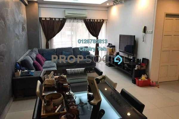Condominium For Sale in Desa Villa, Taman Desa Freehold Semi Furnished 3R/2B 680k