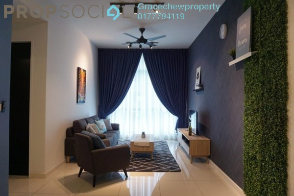 Apartment For Rent in Setia Sky 88, Johor Bahru Freehold Fully Furnished 1R/2B 2.38k