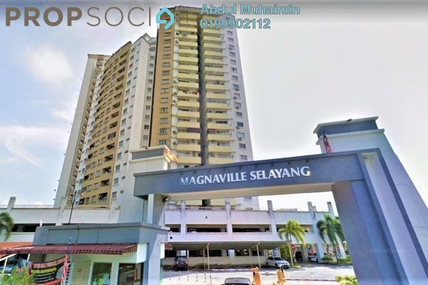Condominium For Rent in Magna Ville, Selayang Freehold Semi Furnished 3R/2B 1.1k