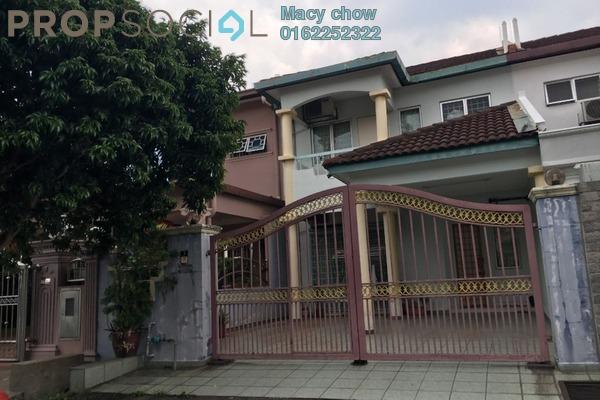 For Rent Condominium at Taman Bukit Angsana, Cheras South Freehold Semi Furnished 4R/3B 1.7k