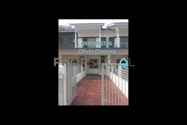 Townhouse For Rent in The Lake Residence, Puchong Freehold Semi Furnished 3R/2B 1.3k