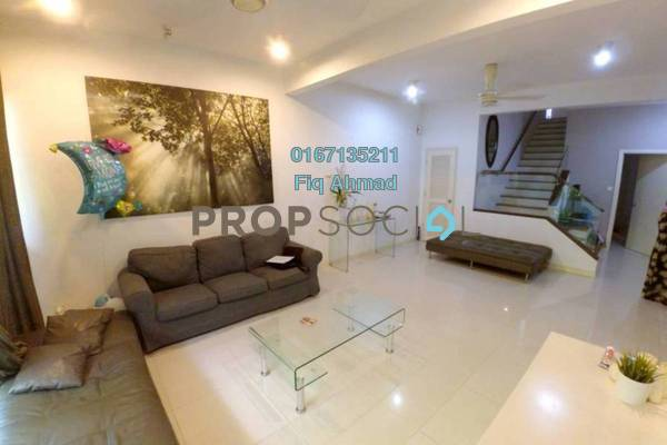 Townhouse For Sale in Challis Damansara, Sunway Damansara Freehold Fully Furnished 4R/4B 1.4m