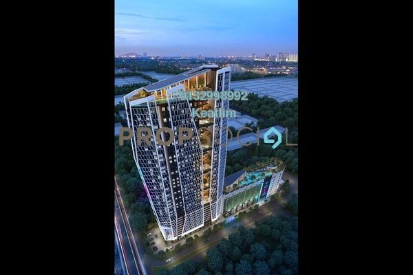 Condominium For Sale in Sunway South Quay, Bandar Sunway Leasehold Semi Furnished 1R/1B 370k