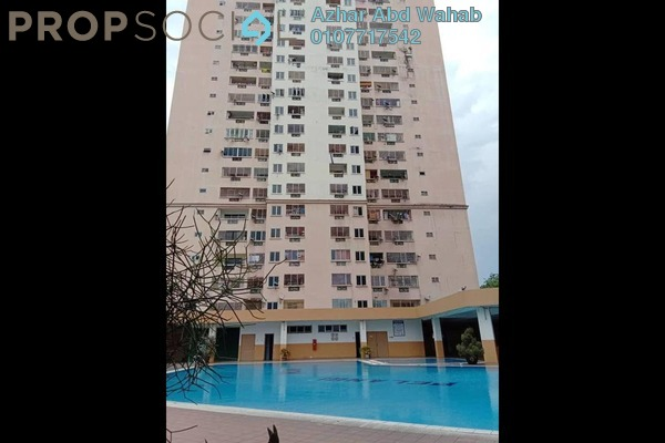 For Sale Condominium at Pelangi Indah, Jalan Ipoh Freehold Unfurnished 3R/2B 290k