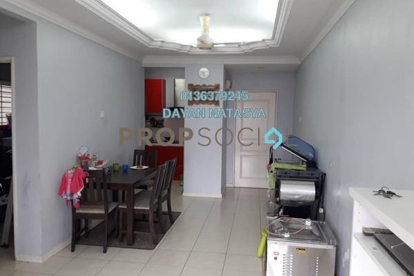 Apartment For Sale in Baiduri Courts, Bandar Bukit Puchong Freehold Semi Furnished 3R/2B 350k