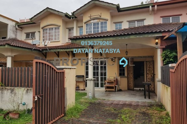 Terrace For Rent in Taman Sutera, Kajang Freehold Fully Furnished 4R/3B 1.2k