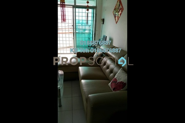 Condominium For Rent in Casa Ria, Cheras Freehold Fully Furnished 2R/2B 2k