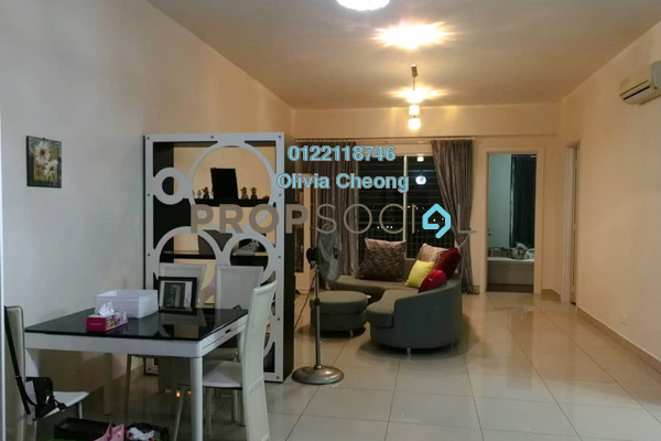 Serviced Residence For Rent in Subang Olives, Subang Jaya Freehold Fully Furnished 3R/3B 3.5k